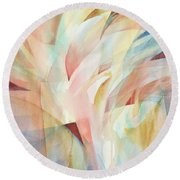 Warm Rays Round Beach Towel by Carolyn Utigard Thomas