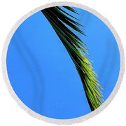 Warmer Days To Come Round Beach Towel