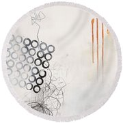 Washed Up # 8 Round Beach Towel