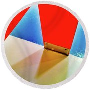 Washroom Indoor Structure Architecture Abstract Round Beach Towel