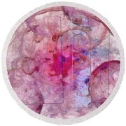 Wasteboard Smoothness  Id 16098-040727-87761 Round Beach Towel
