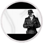Watchmen Round Beach Towel