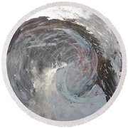 Water Spirit Round Beach Towel