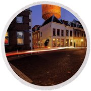 Water Tower Lauwerhof In Utrecht 25 Round Beach Towel