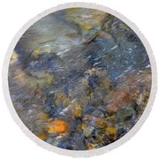 Water Whimsy 176 Round Beach Towel
