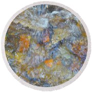 Water Whimsy 179 Round Beach Towel