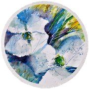 Watercolor 017070 Round Beach Towel
