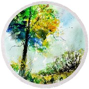 Watercolor 114062 Round Beach Towel