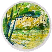 Watercolor 115080 Round Beach Towel
