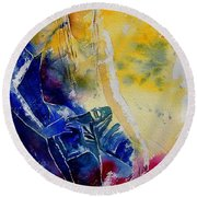 Watercolor 21546 Round Beach Towel