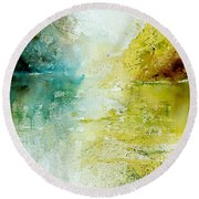 Watercolor 24465 Round Beach Towel