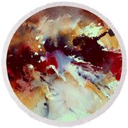 Watercolor 301107 Round Beach Towel