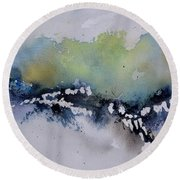 Watercolor 615032 Round Beach Towel