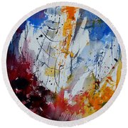 Watercolor  901120 Round Beach Towel