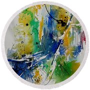 Watercolor  902180 Round Beach Towel