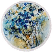 Watercolor  907003 Round Beach Towel
