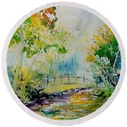 Watercolor  908020 Round Beach Towel