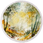 Watercolor  908021 Round Beach Towel