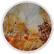 Watercolor  908031 Round Beach Towel