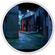 Waterford Alley Round Beach Towel