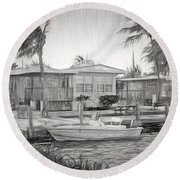 Waterfront Cottages At Parmer's Resort In Keys Round Beach Towel