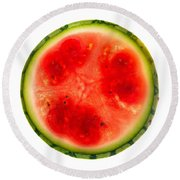 Watermelon Slice Round Beach Towel