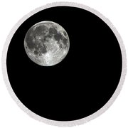 We All See It Round Beach Towel