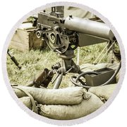 Weapons Round Beach Towel