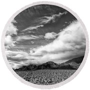 Weather Front Round Beach Towel