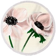 Wedding Bliss Round Beach Towel
