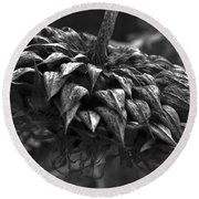 Weeds Can Be Beautiful Round Beach Towel