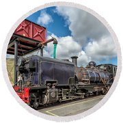 Welsh Highland Railway Round Beach Towel