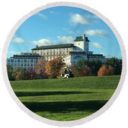 Westchester Country Club Round Beach Towel