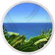 Western Shore Kauai Round Beach Towel