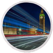Westminster Round Beach Towel