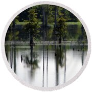Wetland Round Beach Towel
