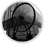 Wheel Art Round Beach Towel