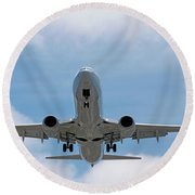 Wheels And Flaps Down Round Beach Towel
