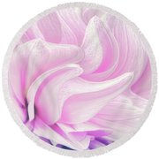 Whimsy Girl Round Beach Towel