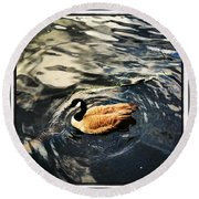 Whirling Round Beach Towel