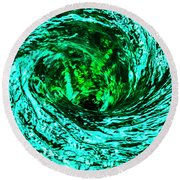 Whirlpool Round Beach Towel