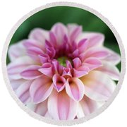 Whispers From The Garden Round Beach Towel