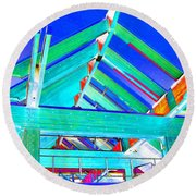 Whistler Conference Centre Round Beach Towel