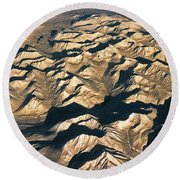 White Mountains ... Round Beach Towel