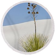 White Sands National Monument, Nm Round Beach Towel