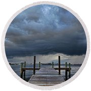 Wicked Weather Round Beach Towel