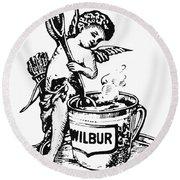 Wilbur-suchard Company Round Beach Towel