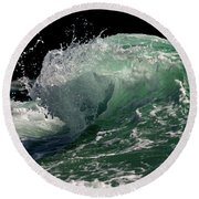 Wild Edge Round Beach Towel