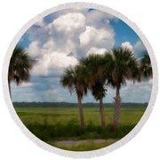 Wild Florida Round Beach Towel