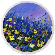 Wild Flowers 560908 Round Beach Towel
